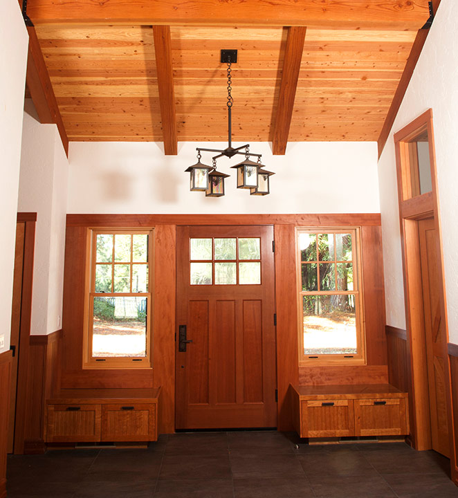 Redwood Door and Window Casement