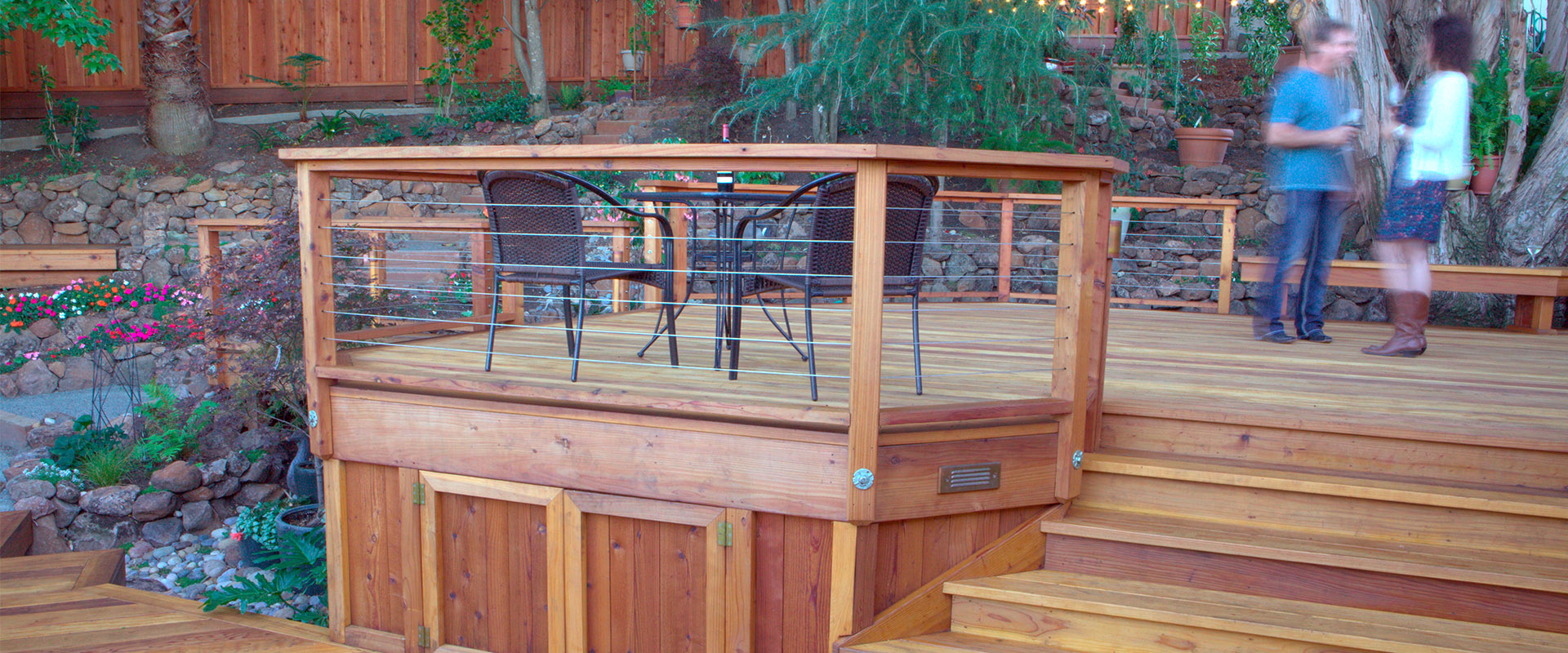 Humboldt Redwood Clear Grade Redwood Deck