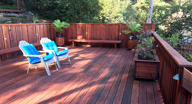 Metamorphosis Landscaping Deck in Millbrae, CA