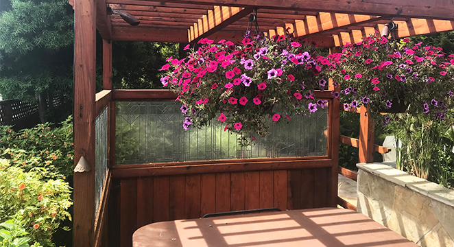 Metamorphosis Landscaping Spa Surround in San Mateo, CA