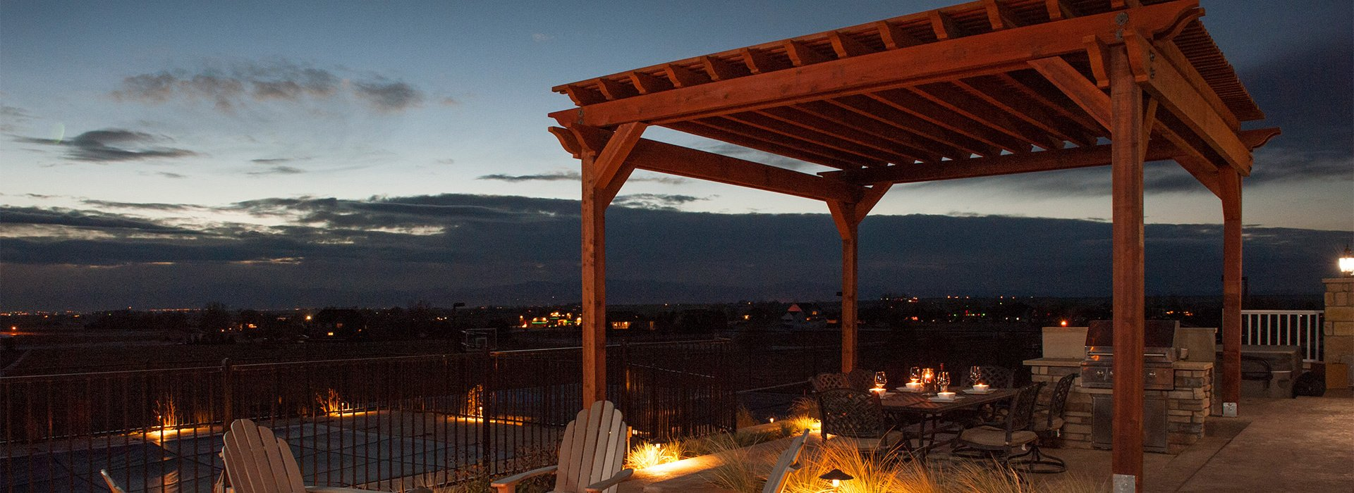Redwood Pergola in Severance, CO