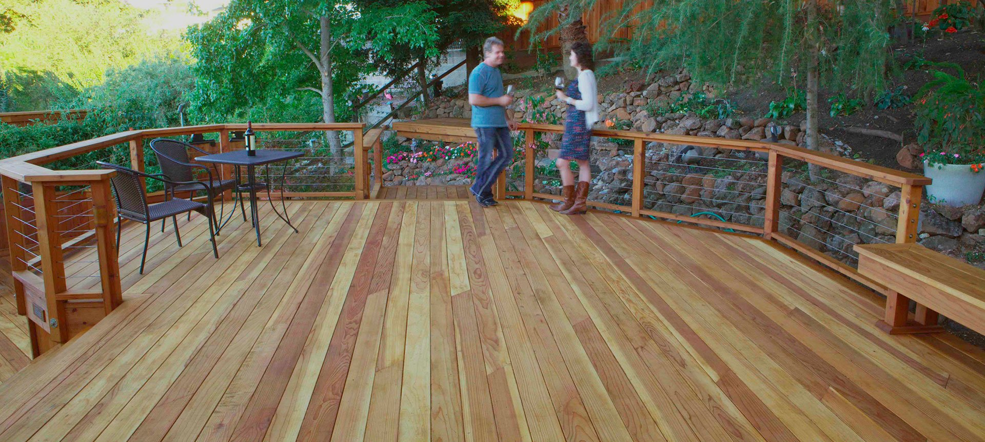 Decking Humboldt Redwood